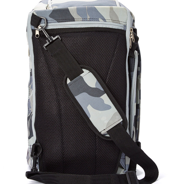 Cool Camo Baby Sak Back View with Strap